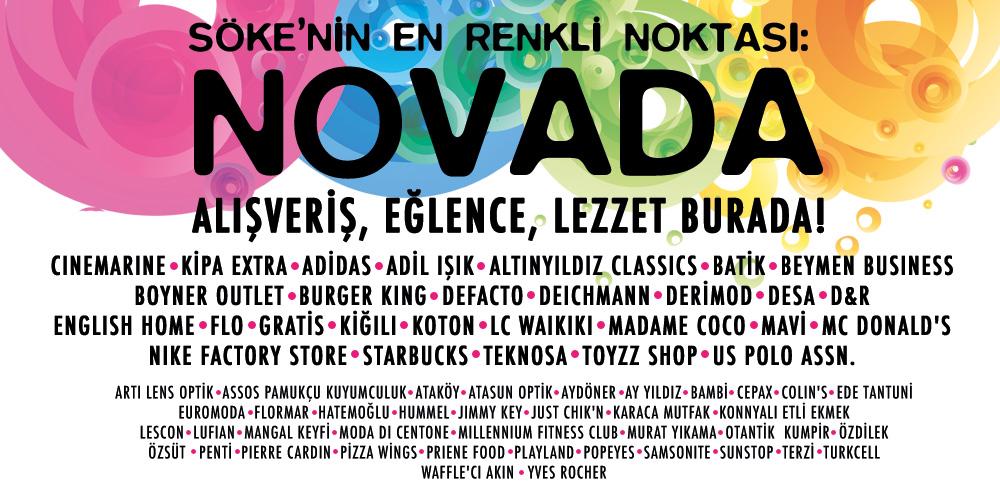 Söke'nin En Renkli Noktası, Novada!