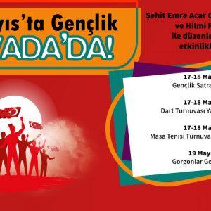 19 MAYIS'TA GENÇLİK NOVADA'DA!