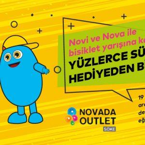 Novi ve Nova ile Bisiklet Yarışına Katıl, Yüzlerce Sürpriz Hediyeden Birini Kap!