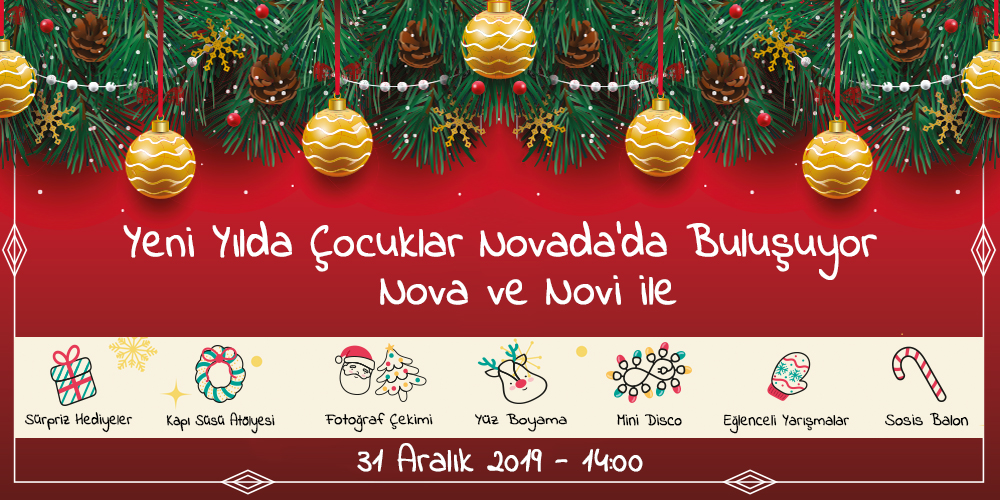 Yeni Yil Etkinlikleri Novada Soke